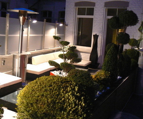 Contemporary Terrace Design with Red Decoration | Outdoor & Garden | Decoration | Scoop.it