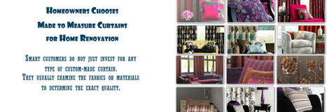 Express Curtains - Made to Measure Curtains - Ready Made Curtains | Made to Measure Curtains Online | Scoop.it