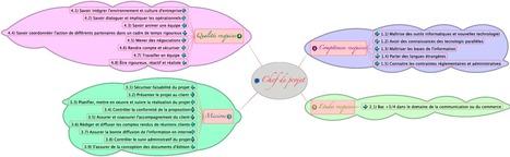 Carte heuristique: projet professionnel   Projet professionnel: Chef de projet   Scoop.it