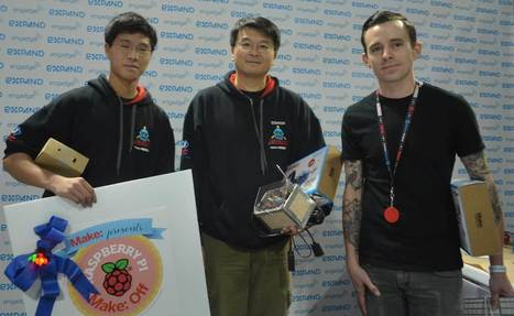 Sea Slugs Take the Title at Inaugural Raspberry Pi Make: Off | Raspberry Pi | Scoop.it