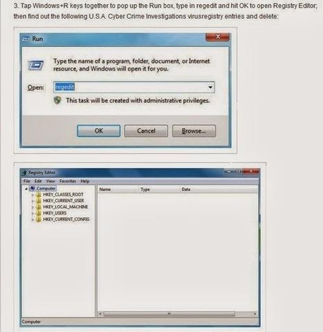 VirusRemovalGuide1: Remove U.S.A. Cyber Crime Investigations virus | Remove Computer Virus | Scoop.it