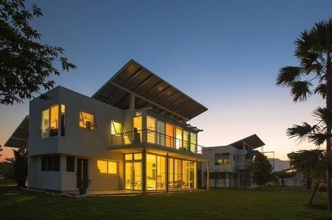 Voici la première maison solaire-hydrogène 100% autosuffisante -mrmondialisation | architecture..., Maisons bois & bioclimatiques | Scoop.it