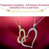 Give a stylish and stunning look to your personality with fingerprint jewellery | Fingerprint Jewellery | Scoop.it