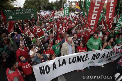 Diario de Sevilla. La educación paró en Sevilla | La prensa | Scoop.it