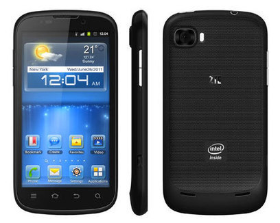 ZTE Grand X IN.. first ICS smartphone with Intel Inside | Mobile IT | Scoop.it