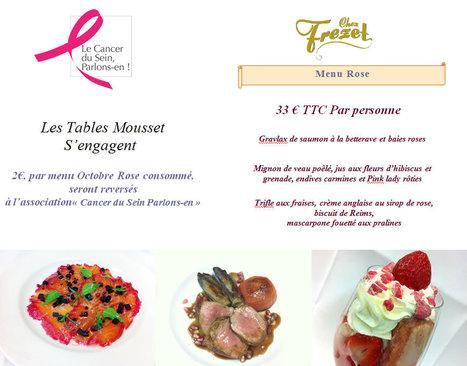 Chez Frezet, Octobre Rose !   Gastronomie Française 2.0   Scoop.it