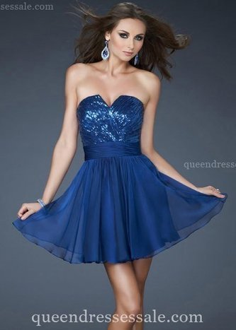 Short Strapless Little Marine Blue Dress for Prom Discount [Blue Prom Dresses] - $145.00 : Wholesale Prom Dresses and Homecoming Dresses for You | Prom Dresses & Homecoming Dresses | Scoop.it