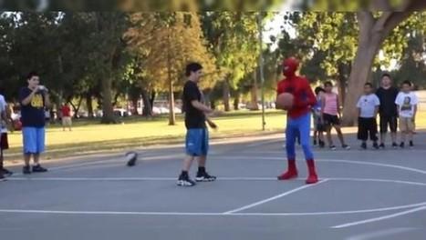 Noticias: VIDEO. Spider-Man anónimo humilla a jugadores de basquetbol | basquetbol | Scoop.it