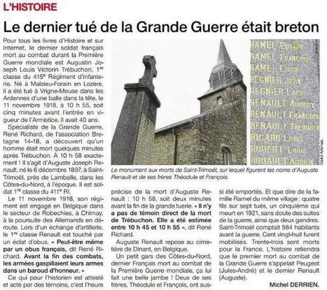 Le dernier tué de la Grande Guerre | Mes Hautes-Pyrénées | Scoop.it