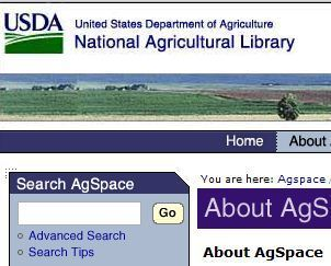 NAL Digital Repository - About AgSpace | GIS, Spatial modelling & Plants | Scoop.it