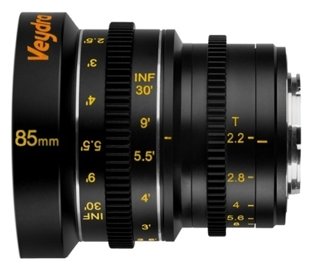 Veydra Adds 85mm T/2.2 Ciné Prime Lens to its Exciting Micro Four Thirds Line-Up