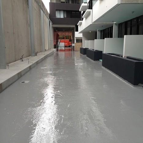 Repair a Leaking Balcony   Waterproofing   Coating System - Durotech Industries   Scoop.it