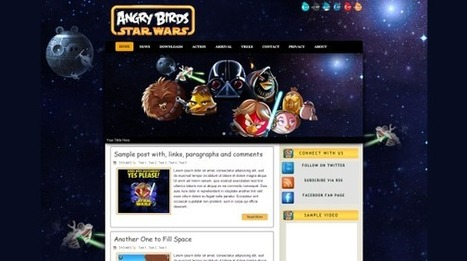 Angry Birds | Blogger Templates Blog | Blogger themes | Scoop.it