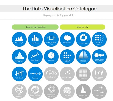 The Data Visualisation Catalogue | Open innovation | Scoop.it