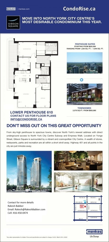 Get the affordable Condos in Willowdale East | Condo Rise | Scoop.it