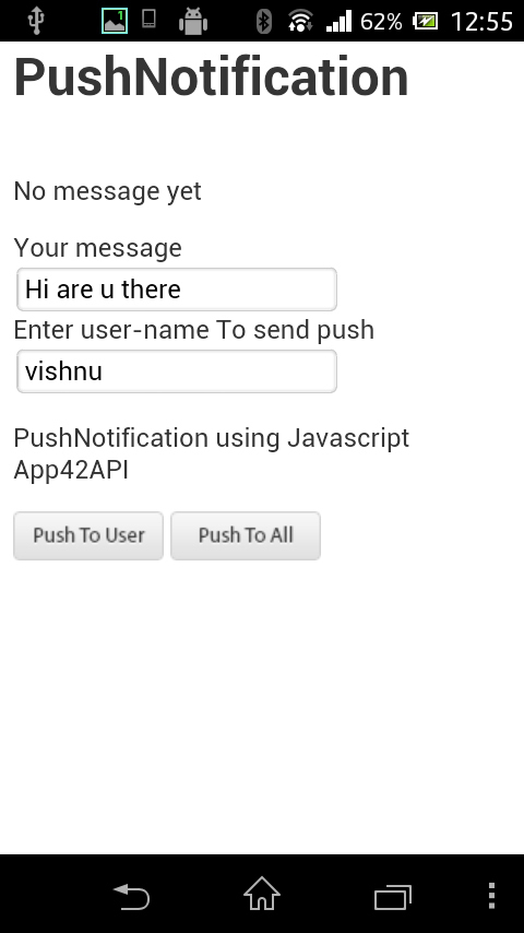 Integrating Push Notification in PhoneGap Andro...