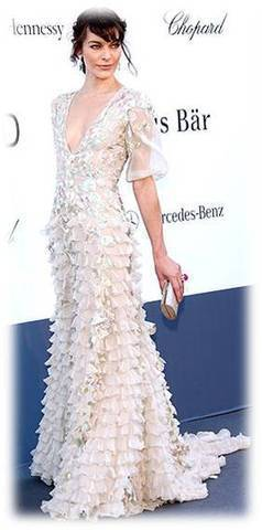 Sexy Dresses » Prom Dresses Wear By Milla Jovovich | Beauty and Hairstyles | Scoop.it