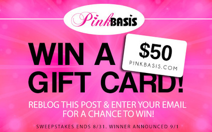 Pink Basis $50 Gift Card Giveaway on Tumblr! | Pink Basis Discounts & Giveaways | Scoop.it