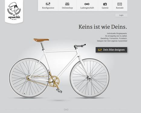Fixie Love » Un site de fixie «site of the day» une merveille de customisation | #websdesign inspiration | Scoop.it