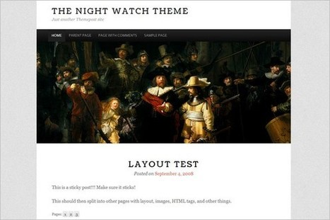 5 New free WordPress Themes releases 11/18 2012 | WP Daily Themes | Free & Premium WordPress Themes | Scoop.it