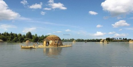 Tourisme : un village de cabanes flottantes aux portes de la Charente | Chuchoteuse d'Alternatives | Scoop.it