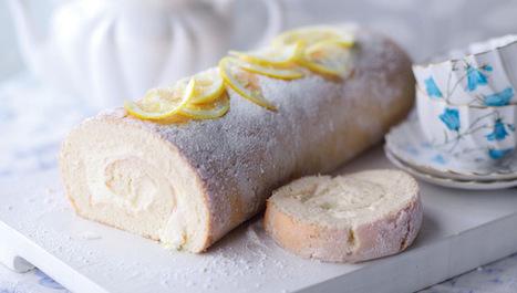 Brazo de gitano de limón | Postres | Comiditas | Scoop.it