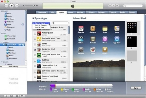 PadGadget's iPad Tips: App Organization | PadGadget | iPads in the Elementary Library | Scoop.it