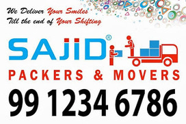 SAJID PACKERS AND MOVERS 99 1234 6786: Sajid Packers | Sajid Packers and Movers | 99 1234 6786 | Scoop.it