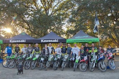 Group photo from CFTA Day at Brian Bartlow's Feel Like a Pro Dirt event today.... | California Flat Track Association (CFTA) | Scoop.it