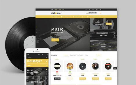 Melodyer - Audio Store Responsive Prestashop Theme for Online Music Stores   platinastudio   Scoop.it
