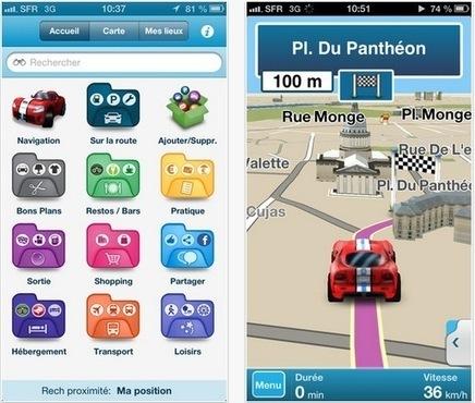 M8 : un nouveau GPS gratuit sur iPhone | Applications Iphone, Ipad, Android et avec un zeste de news | Scoop.it