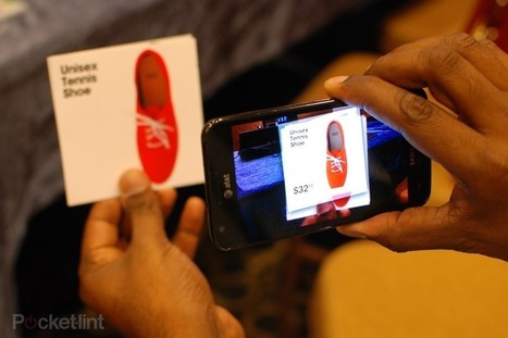 Augmented Reality 2012: Is the dream any closer? - Pocket-lint | The Future of Packaging with AR | Scoop.it