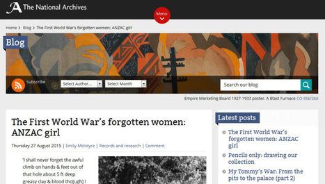 Article du jour (177) : An Extraordinary Story of World War I Nurses   CGMA Généalogie   Scoop.it