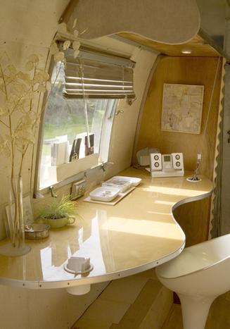 Visite guidée d'un Airstream Trailer | La minute déco | la minute deco | Scoop.it
