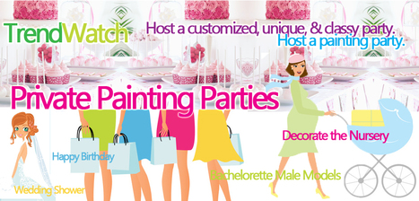 TREND ALERT: Colors & Bottles Private Social Art Party Booking | Social Painting Classes by Colors & Bottles | Scoop.it