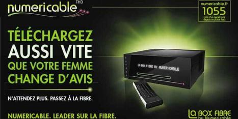 Pub de Numericable: sa com' sexiste continue d'indigner - Le Huffington Post | info pub | Scoop.it