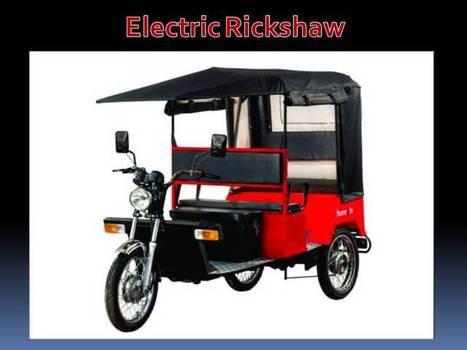 Electric Rickshaw Manufacturer Delhi   Rickshaw   Scoop.it