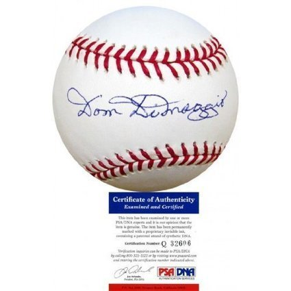 Dom DiMaggio Autographed Baseball Baseballs | Sport Outdoor | Scoop.it