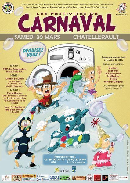 Feu Carnaval | Chatellerault, secouez-moi, secouez-moi! | Scoop.it