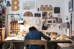 Where the magic happens: children's illustrators open up their studios - in pictures | Illustrators, artists, photographers | Scoop.it
