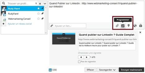 ▶ Programmer vos Publications sur Linkedin : le Guide   CV, lettre de motivation, entretien d'embauche   Scoop.it