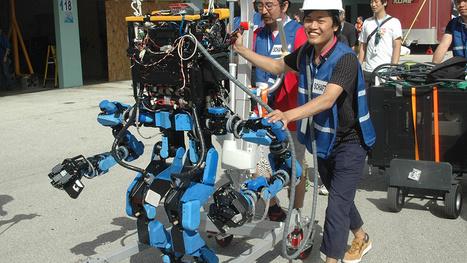 Team SCHAFT Sticks It to Competition, Wins DARPA Robotics Challenge | Interface, ergonomie.....too geek or not too geek | Scoop.it