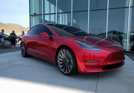 Tesla a terminé la conception de la Model 3 et est en avance sur son planning | Planete DDurable | Scoop.it