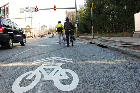 Sharing time: Tracking the 'sharrow' on city streets | green streets | Scoop.it