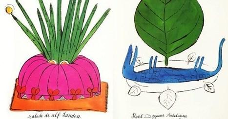 Wild Raspberries: Young Andy Warhol's Little-Known Vintage Cookbook   Food for Foodies   Scoop.it