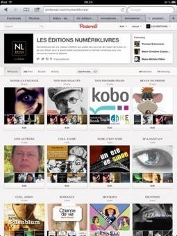 Pinterest : une plateforme incontournable pour les maisons d'édition? | L'édition numérique du vin | Scoop.it