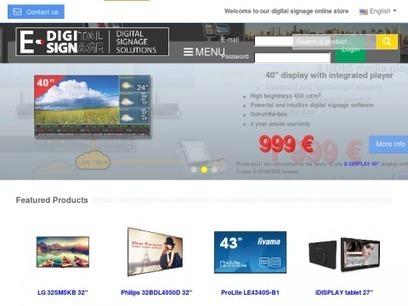 E-digisign : solutions d'affichage dynamique | Annuaire SeObjectif | Scoop.it