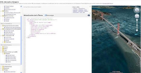 Geoinformación: Ejemplos interactivos de KML para el plugin de Google Earth | #GoogleEarth | Scoop.it