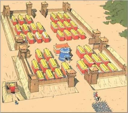 Los Castrum, campamentos fortificados Romanos - Revista de Historia | Mundo Clásico | Scoop.it