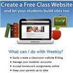 Create Free Classroom Websites and Student Blogs With Weebly for Education   Instructional Technology Ideas & Resources   Scoop.it